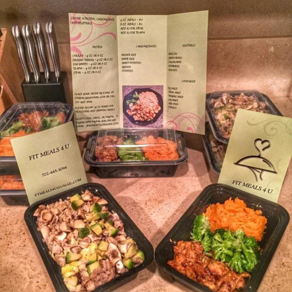 meal prep las vegas - order online - fit meals 4u