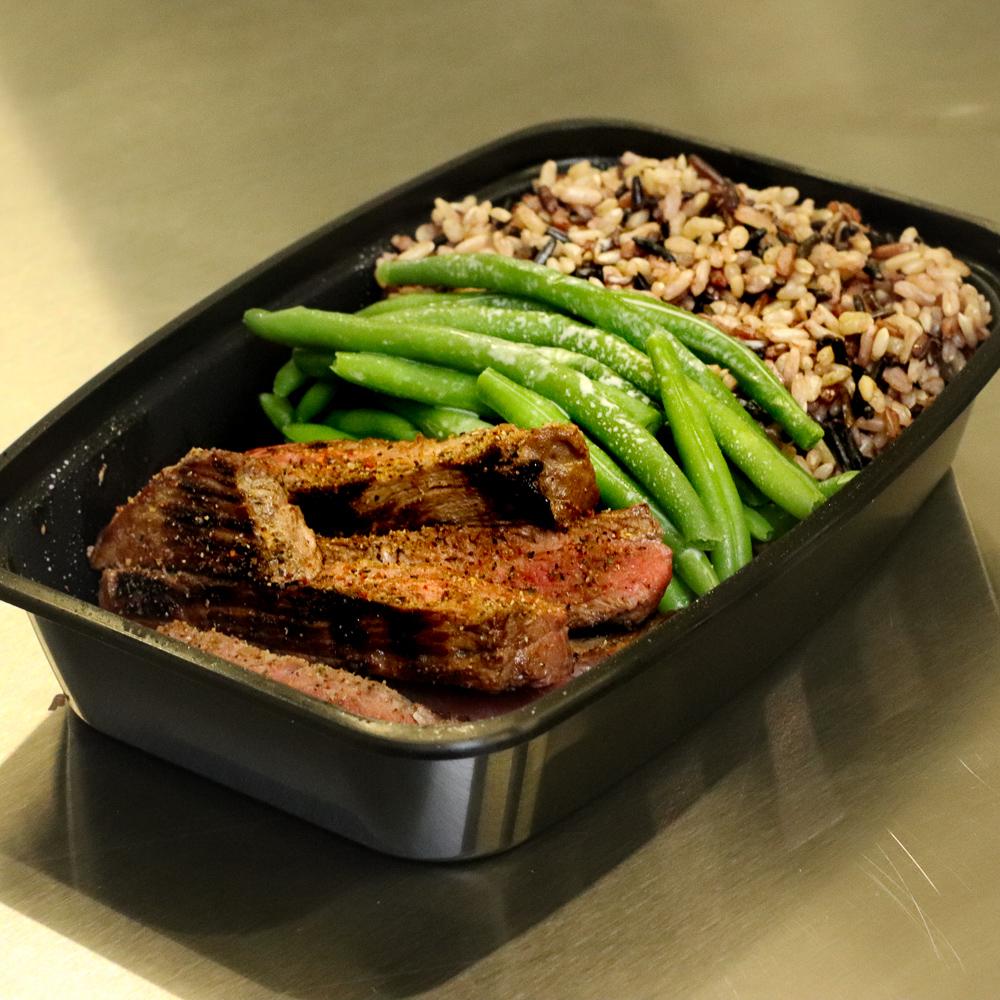Steak & Wild Rice