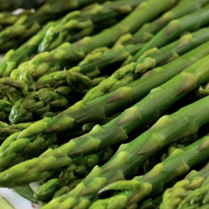 Asparagus by the pound