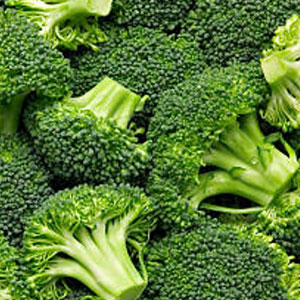 Broccoli by the pound