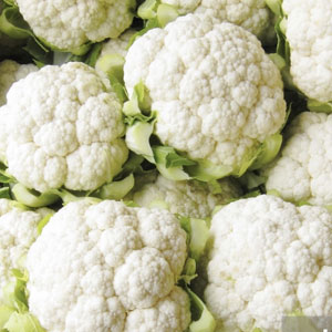 Cauliflower by the pound