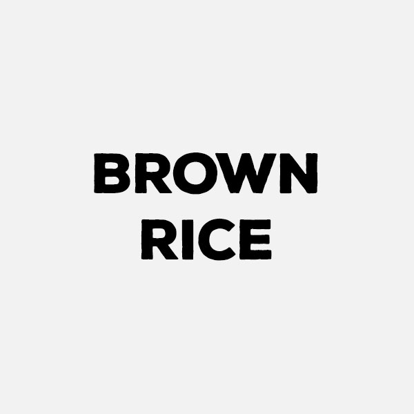 Brown Rice by the pound
