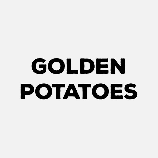 Golden Potatoes by the pound