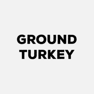 Ground turkey (93%)  by the pound