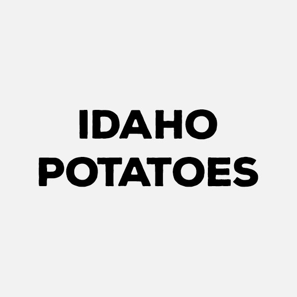 Idaho Potatoes by the pound