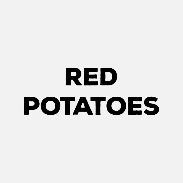 Red Potatoes by the pound