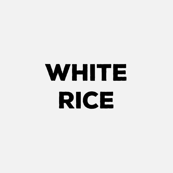 White Rice by the pound