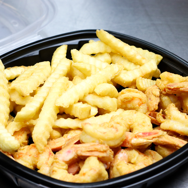 Large Shrimp and Fries