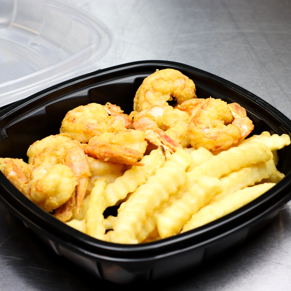 Small Shrimp and Fries